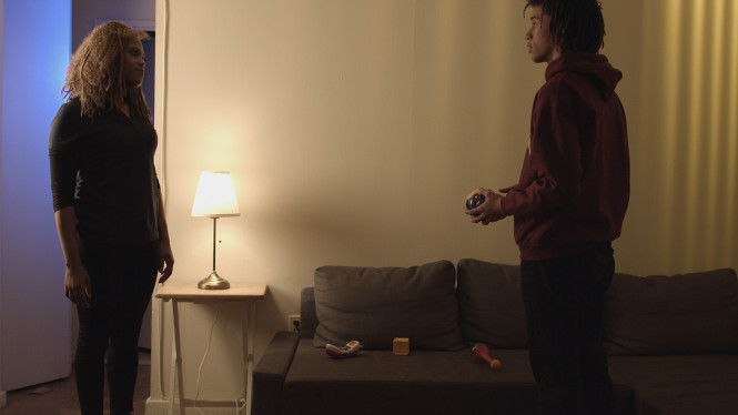 "Still from the short film ""Expectations"""